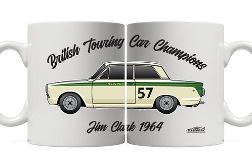 Jim Clark 1964 Champion 11oz Mug