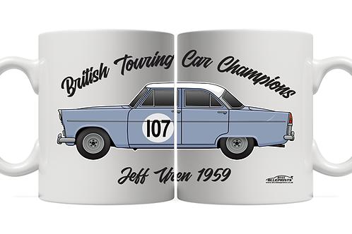 Jeff Uren 1959 Champion 11oz Mug