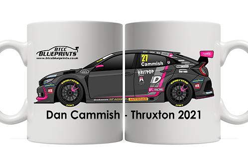 Dan Cammish 2021 | Thruxton | BTC Racing | 11oz Mug