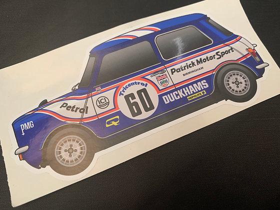 Richard Longman 1979 Champion Sticker