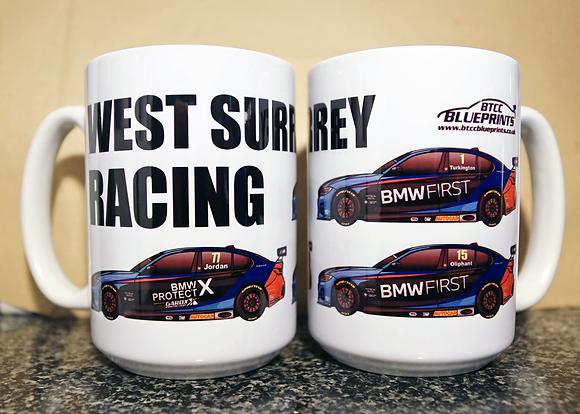 West Surrey Racing 2020 Mugs