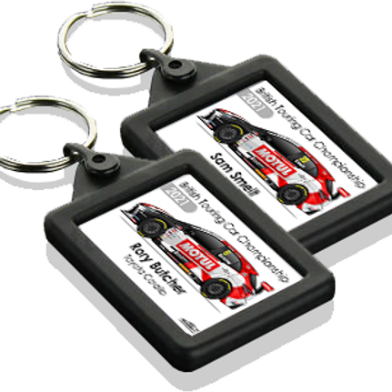 Toyota Gazoo Racing UK 2021 Keyring