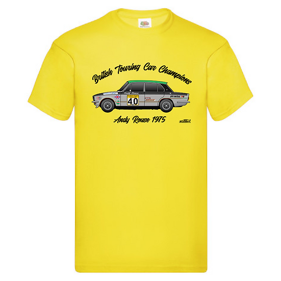 1975 Andy Rouse T-Shirt