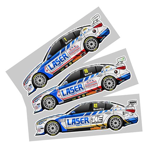 Laser Tools Racing 2021 Sticker