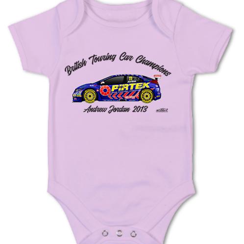 Andrew Jordan 2013 Champion | Baby Grow