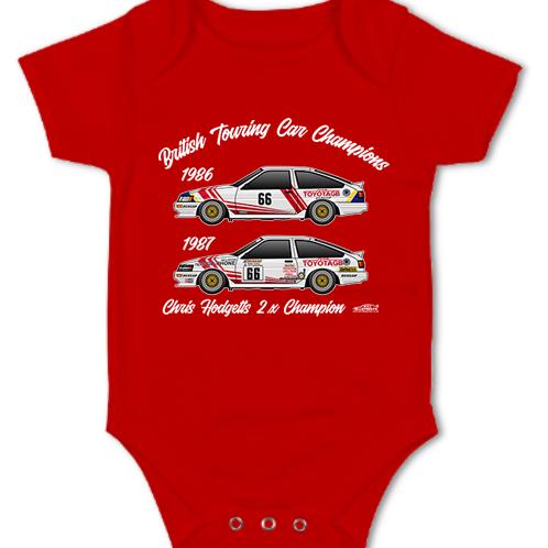 Chris Hodgetts 2 x Champion | Baby Grow