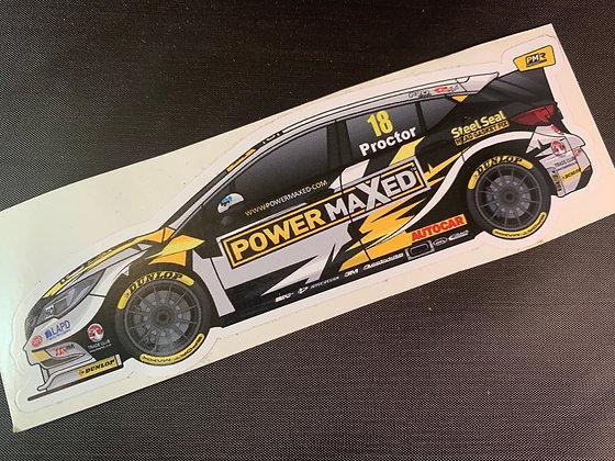 Senna Proctor 2017 Sticker