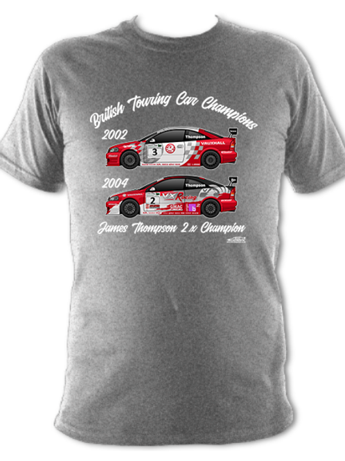 James Thompson 2 x Champion | Adult Unisex | Short Sleeve T-Shirt