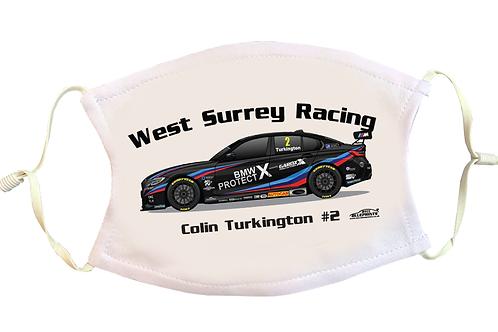 Colin Turkington 2021   Team BMW   Face Mask