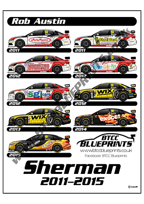 Rob Austin Sherman Liveries