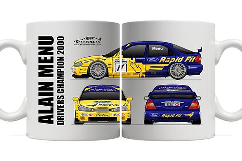 Alain Menu 2000 Champion | All View | 11oz Mug