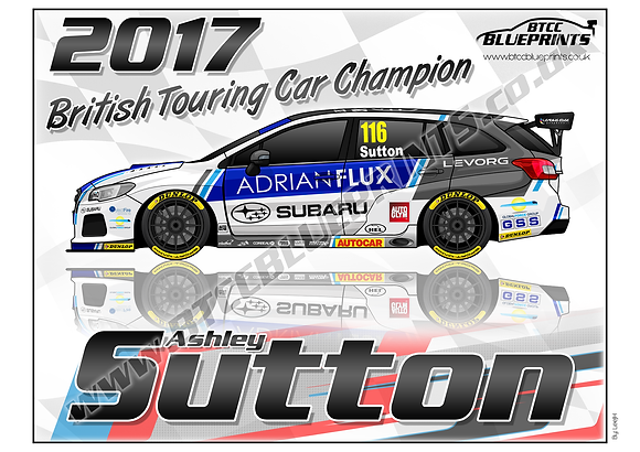 Ash Sutton 2017 Champion
