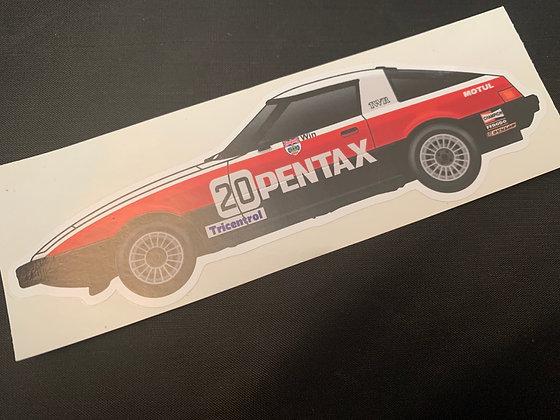 Win Percy 1980 Champion Sticker