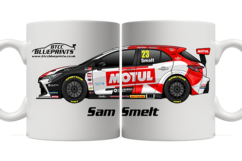 Sam Smelt 2021 | Toyota Gazoo Racing UK | 11oz Mug