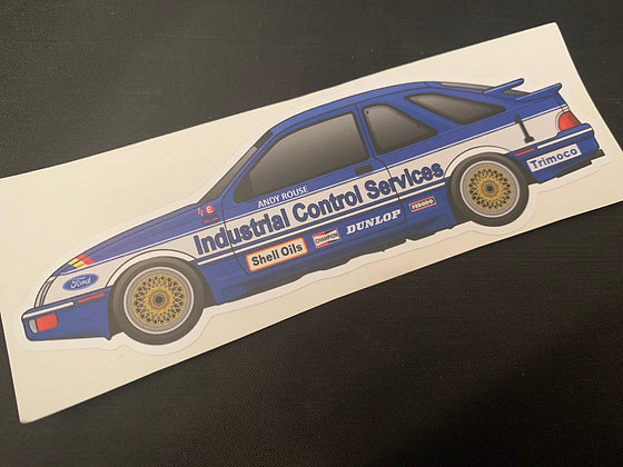 Andy Rouse 1985 Champion Sticker