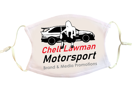 Chell Lawman Motorsport Face Mask