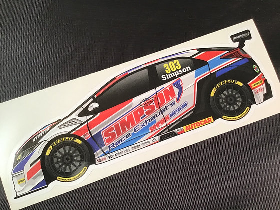 Matt Simpson 2019 Sticker