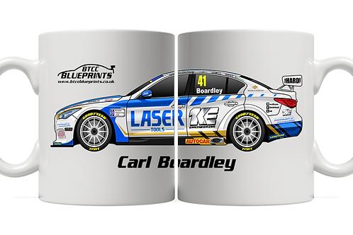 Carl Boardley 2021 | Laser Tools Racing | 11oz Mug