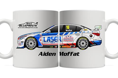 Aiden Moffat 2021 | Laser Tools Racing | 11oz Mug