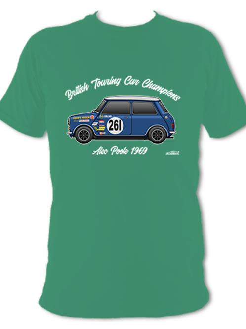 Alec Poole 1969 Champion | Adult Unisex | Short Sleeve T-Shirt