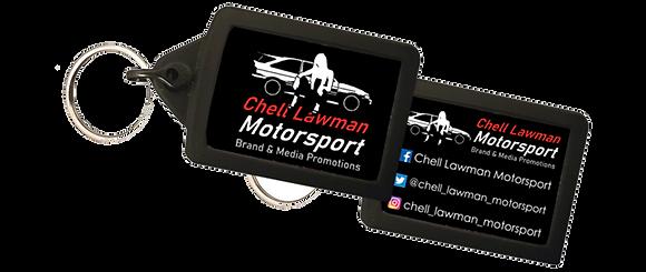 Chell Lawman Motorsport Keyring