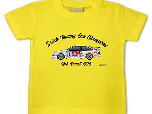 Rob Gravett 1990 Champion | Baby/Toddler | Short Sleeve T-shirt