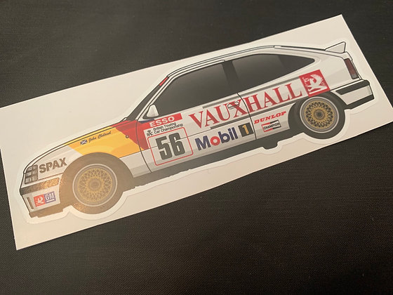 John Cleland 1989 Champion Sticker