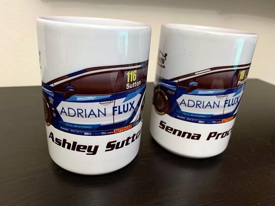 2019 Adrian Flux Subaru Racing Mug