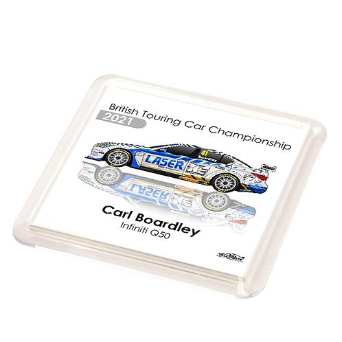 Carl Boardley 2021   Laser Tools Racing   Coaster