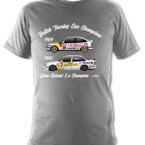 John Cleland 2 x Champion | Children's | Short Sleeve T-shirt