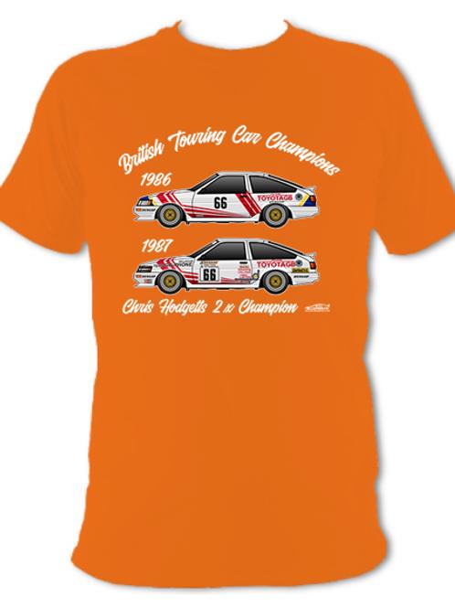 Chris Hodgetts 2 x Champion | Adult Unisex | Short Sleeve T-Shirt