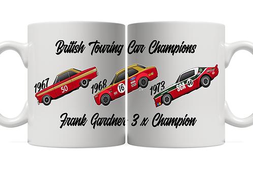 Frank Gardner 3 x Champion 11oz Mug