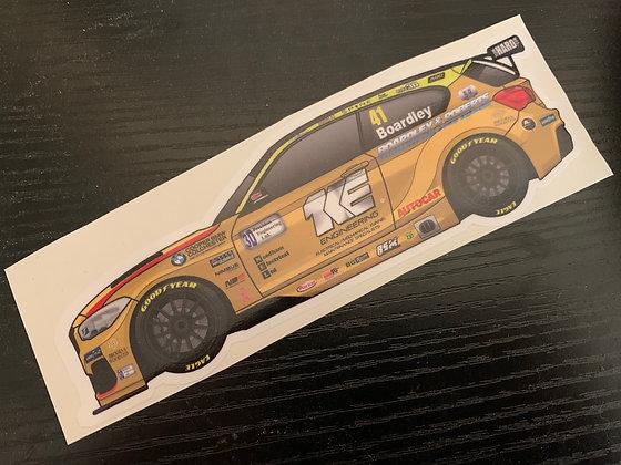 Carl Boardley 2020 (GOLD) Sticker