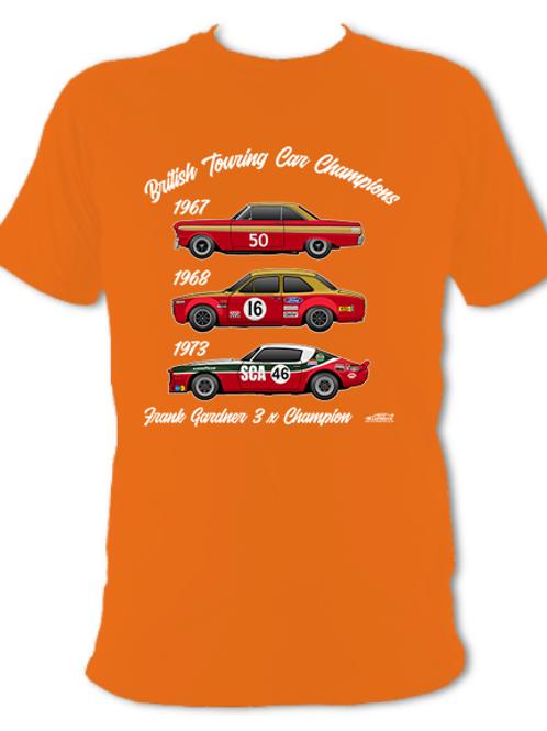 Frank Gardner 3 x Champion | Adult Unisex | Short Sleeve T-Shirt