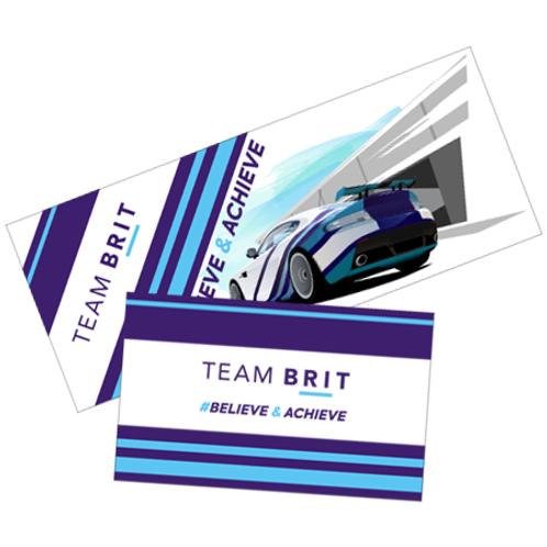 Team BRIT Sticker