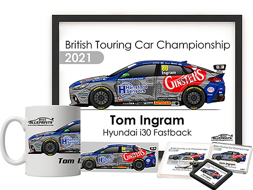 Tom Ingram 2021 | Excelr8 Motorsport | Fan Pack