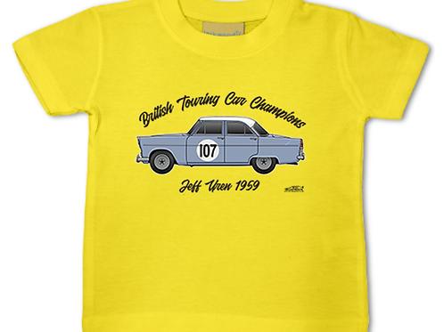 Jeff Uren 1959 Champion | Baby/Toddler | Short Sleeve T-shirt