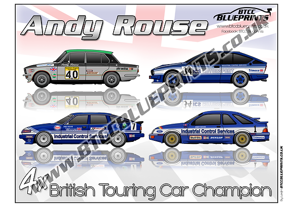 Andy Rouse 4x Champ