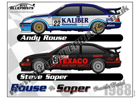 Andy Rouse VS Steve Soper 1988