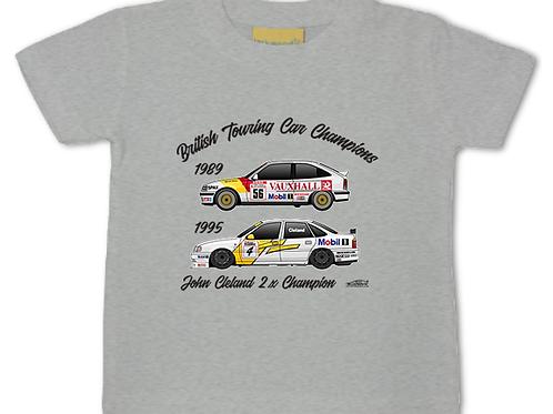 John Cleland 2 x Champion | Baby/Toddler | Short Sleeve T-shirt