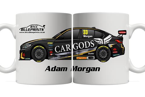 Adam Morgan 2021 | Ciceley Motorsport | 11oz Mug