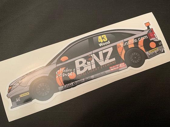 Lea Wood 2012 Sticker