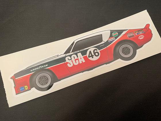 Frank Gardner 1973 Champion Sticker