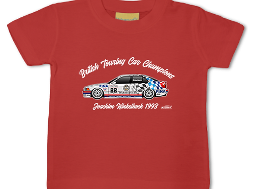 Joachim Winkelhock 1993 Champion | Baby/Toddler | Short Sleeve T-shirt