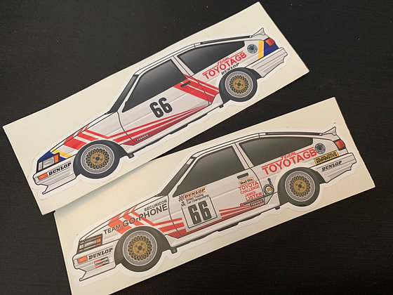 Chris Hodgetts Champion Sticker Set
