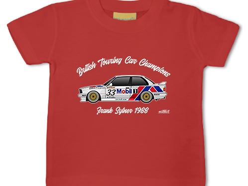 Frank Sytner 1988 Champion | Baby/Toddler | Short Sleeve T-shirt