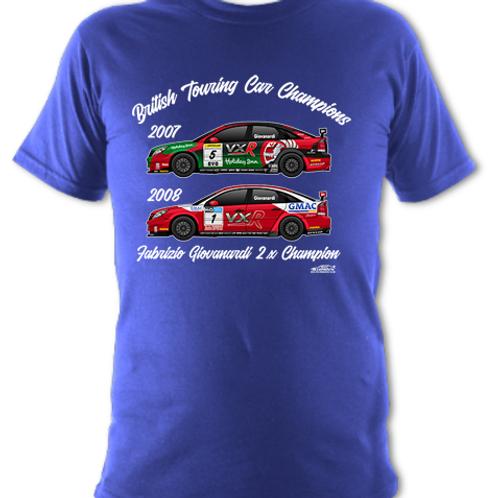 Fabrizio Giovanardi 2 x Champion | Children's | Short Sleeve T-shirt