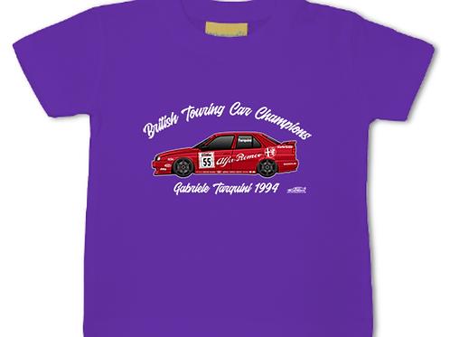 Gabriele Tarquini 1994 Champion | Baby/Toddler | Short Sleeve T-shirt