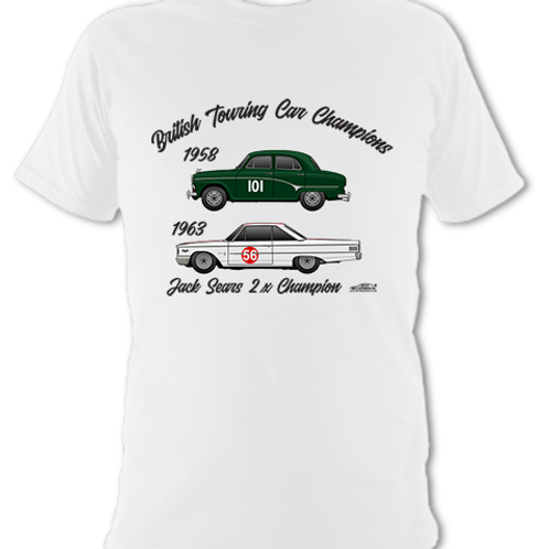 Jack Sears 2 x Champion | Children's | Short Sleeve T-shirt