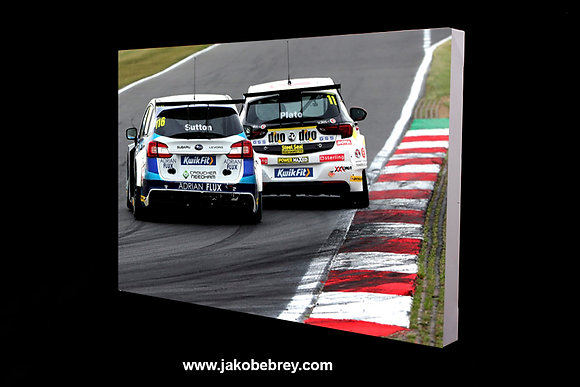 BTCC 'Sutton & Plato' 2019 Canvas